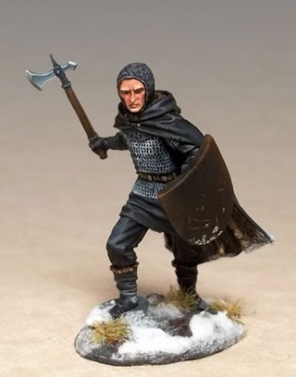 THE NIGHT'S WATCH - AXEMAN/SWORDSMAN