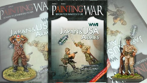 Painting War 3: Japan and USA WW2