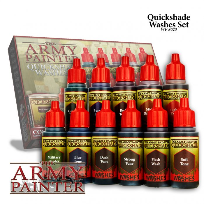 Warpaints Quickshade Washes Set