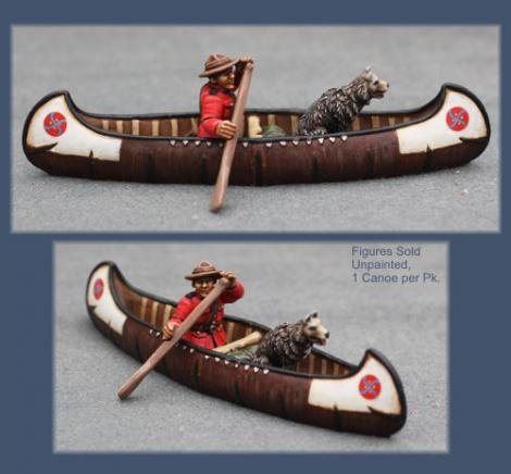 Sgt. Prestown's Canoe (resin canoe)