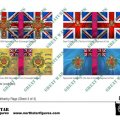 Photo of British Light Division Infantry Flags (Sheet 4 of 4) (BRC025 )