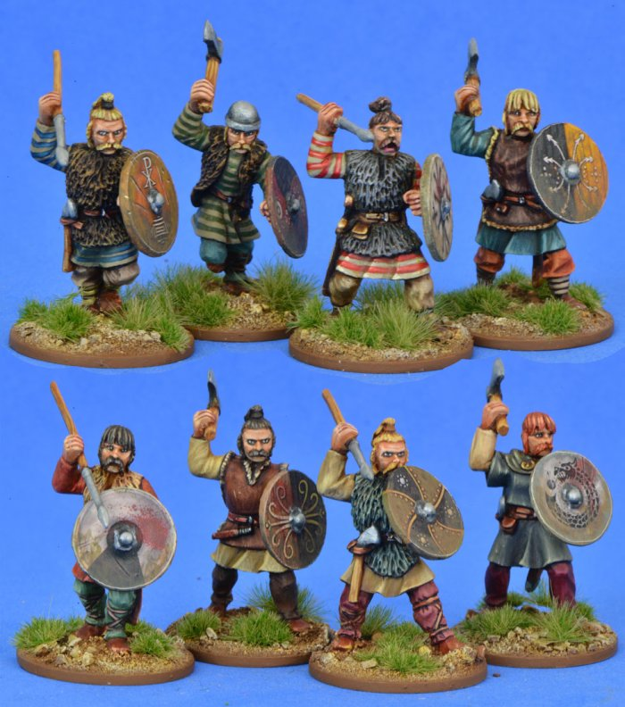 Salian/Merovingian Frank Warriors (8)