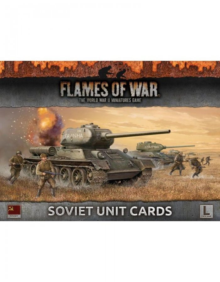 FOW: Soviet Unit Cards