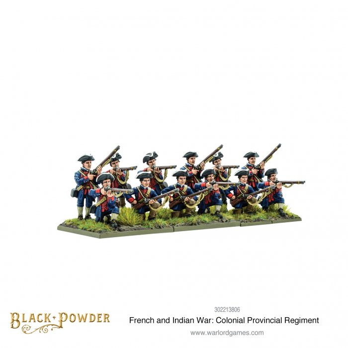 FIW: Colonial Provincial Regiment