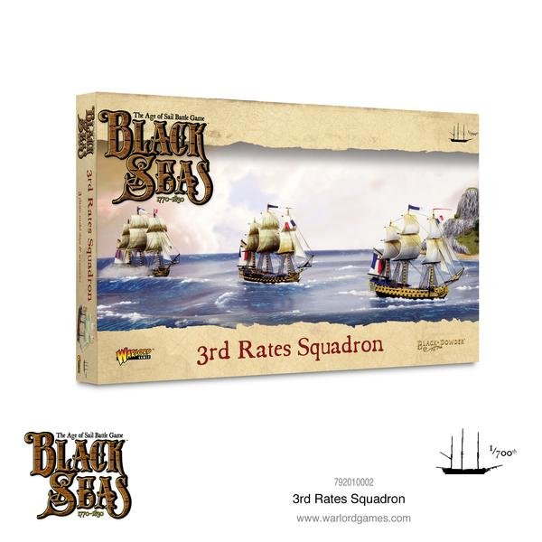3rd Rates Squadron (1770-1830) -  Warlord Games