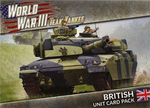 WORLD WAR III - British Unit Card Pack -  Gale Force 9