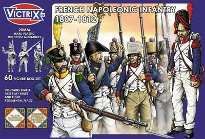 Napoleonic French Infantry 1807-1812