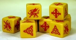 Saga Welsh Dice -  Studio Tomahawk