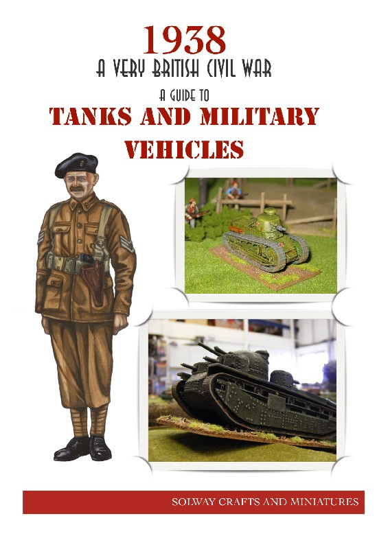 A Guide to Tanks and Military Vehicles -  Solway Crafts and Miniatures
