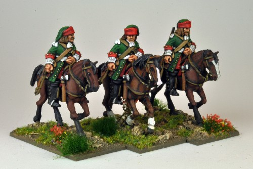 French Dragoons Mounted