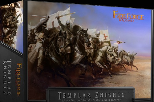 Templar Knights Cavalry -  Fireforge Games