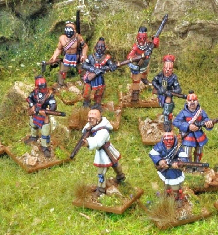 Indian Reinforcements (Musket Armed)