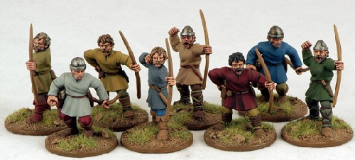 Carolingian Warriors On Foot (Bow)