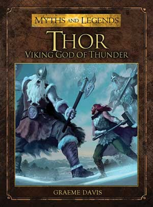 Thor. Viking God of Thunder