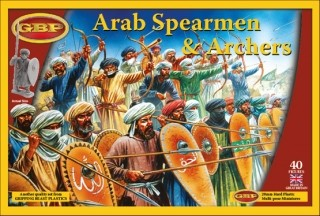Arab Spearmen and Archers -  Gripping Beast