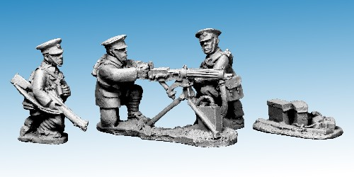 British Cavalry Vickers Team