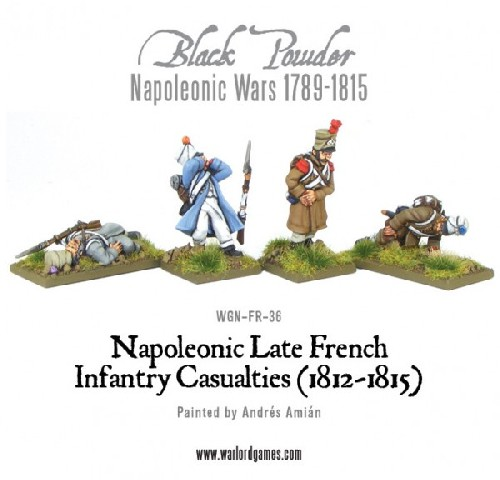 Napoleonic Late French Infantry Casualties
