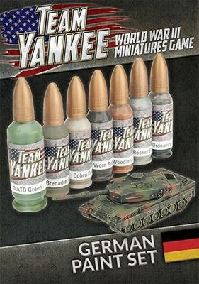 Team Yankee West German Paint Set