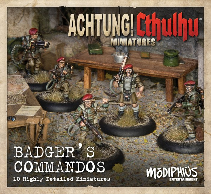 Badger's Commandos