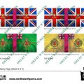 Photo of British 4th Division Infantry Flags (Sheet 3 of 4) (BRC016 )