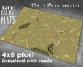 Photo of GRASSLAND GAMING BATTLE MAT WITH ROADS (CBM104-15mm)