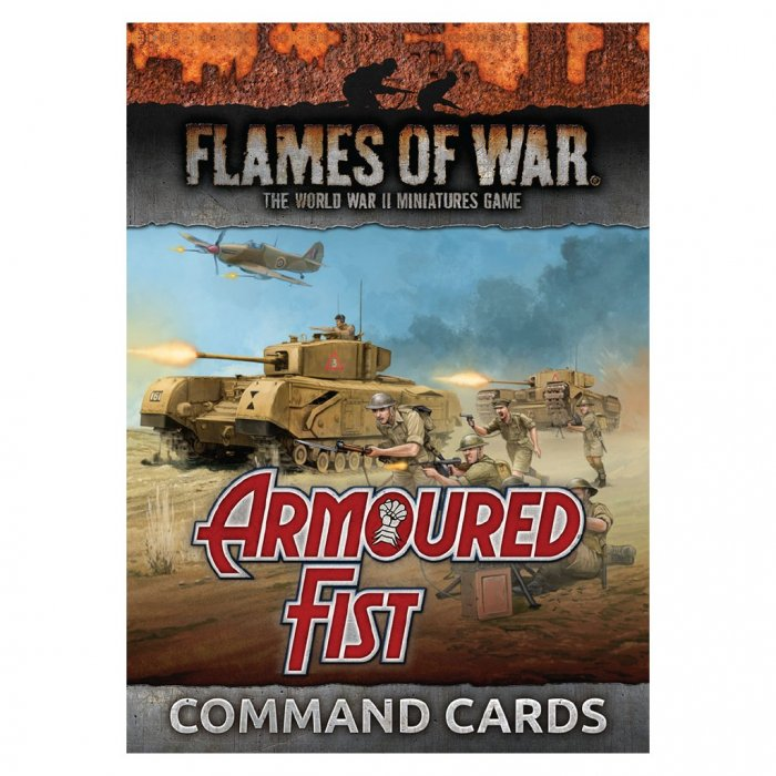 Armoured Fist: Command Cards