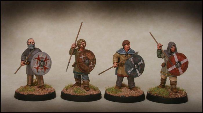 Late Saxon Fyrd Warriors 1