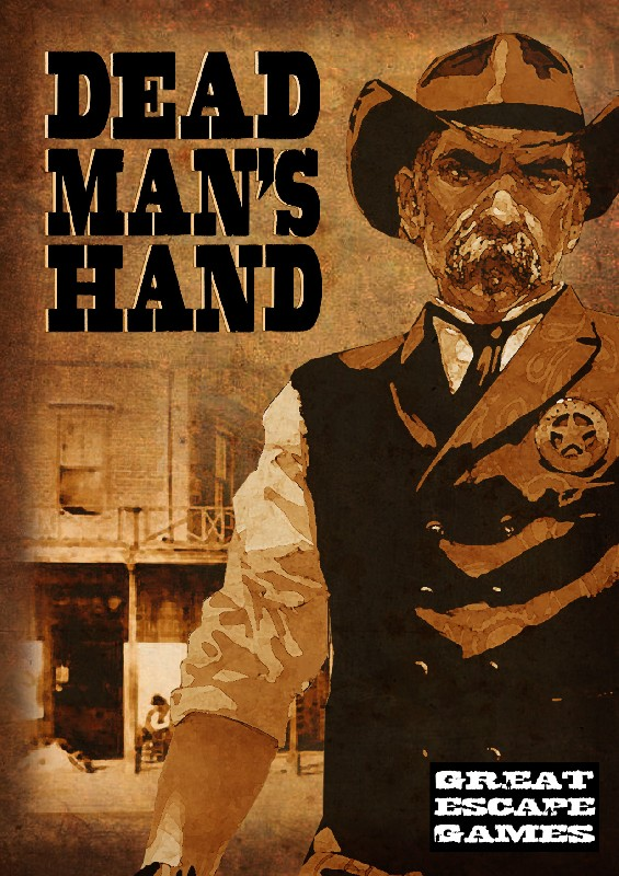 Dead Man's Hand Rule book (includes DMH card deck and pop ou
