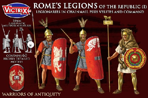 Rome's Legions of the Republic (I) in Mail