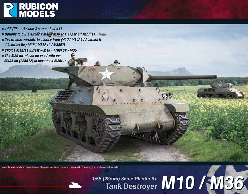 M10 / M36 Tank Destroyer