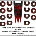 Photo of Goblin Banner & Shields 1 (GOBLIN(NS)1)