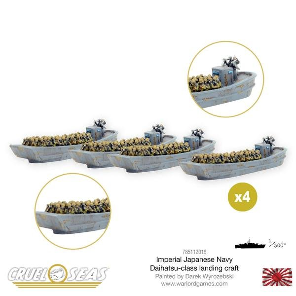 Japanese Navy Daihatsu-class landing craft