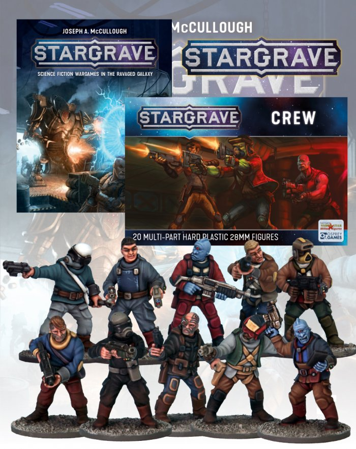 Deal 1a: Stargrave Rulebook and Crew