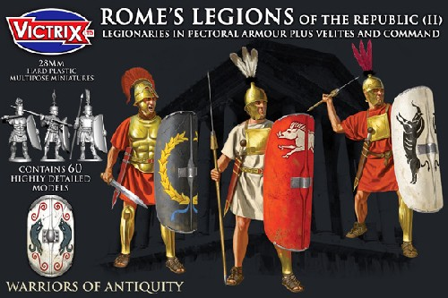 Rome's Legions of the Republic (II) in Pectoral Armour