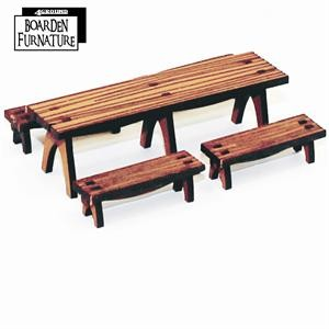 Trestle Table X 1 & Benches X 4