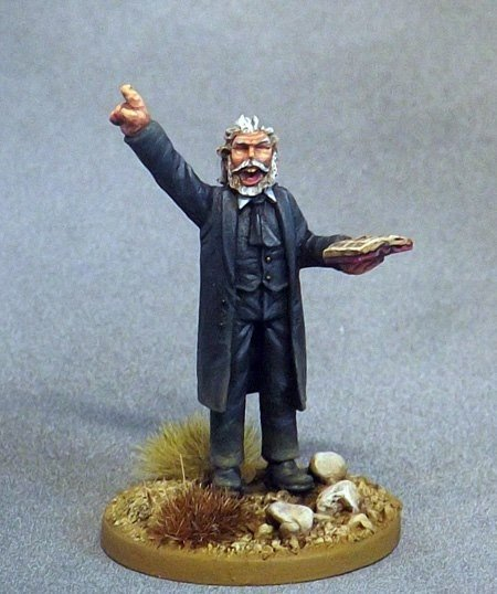 Dead Man's Hand Rogue Reverend Johnson