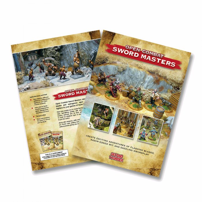 Open Combat Sword Masters Supplement