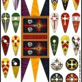 Photo of Crusader Banners & Shield  (LBMS SAGA SCD 99)