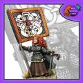 Photo of Svala, Shieldmaiden Standard Bearer (flag not included) (BFM032)
