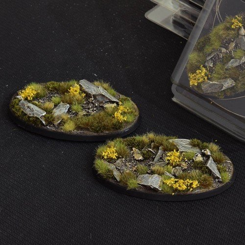 Highland Bases Oval 90mm (x2)