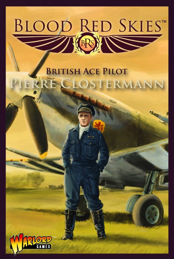 Blood Red Skies Pierre Closermann Spitfire Ace