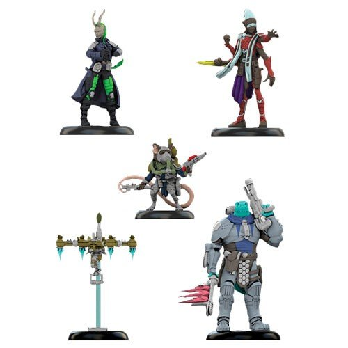 Starfinder Miniatures Iconic Heroes Set #2