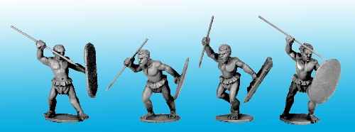 Congo Tribal Spearmen