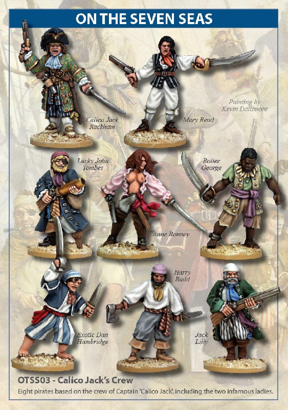 Otss03 Calico Jack S Crew North Star Military Figures