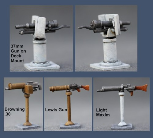 Light Deck Weapons