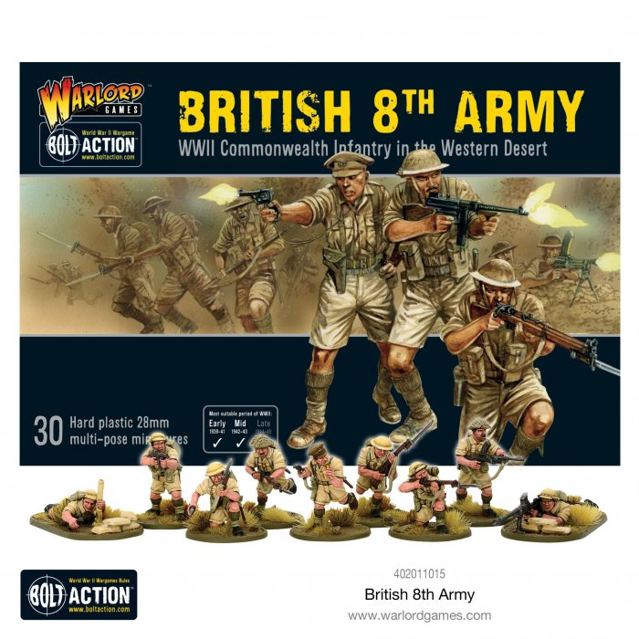 Bolt Action 8th Army