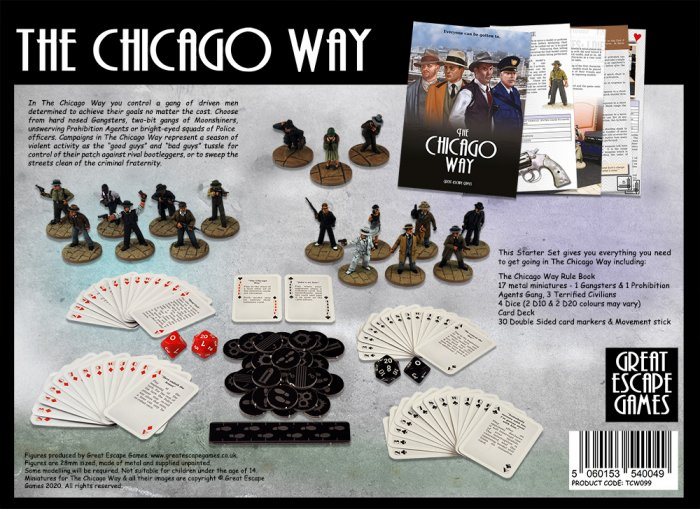 The Chicago Way - Limited Edition Two Player Starter Set