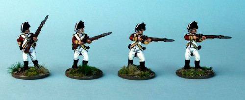 Irish Militia grenadiers (bicornes)