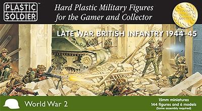 WW2015003 - 15mm Late War British Infantry 1944-45 - North