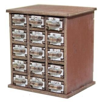 Safety Deposit Boxes 16-30